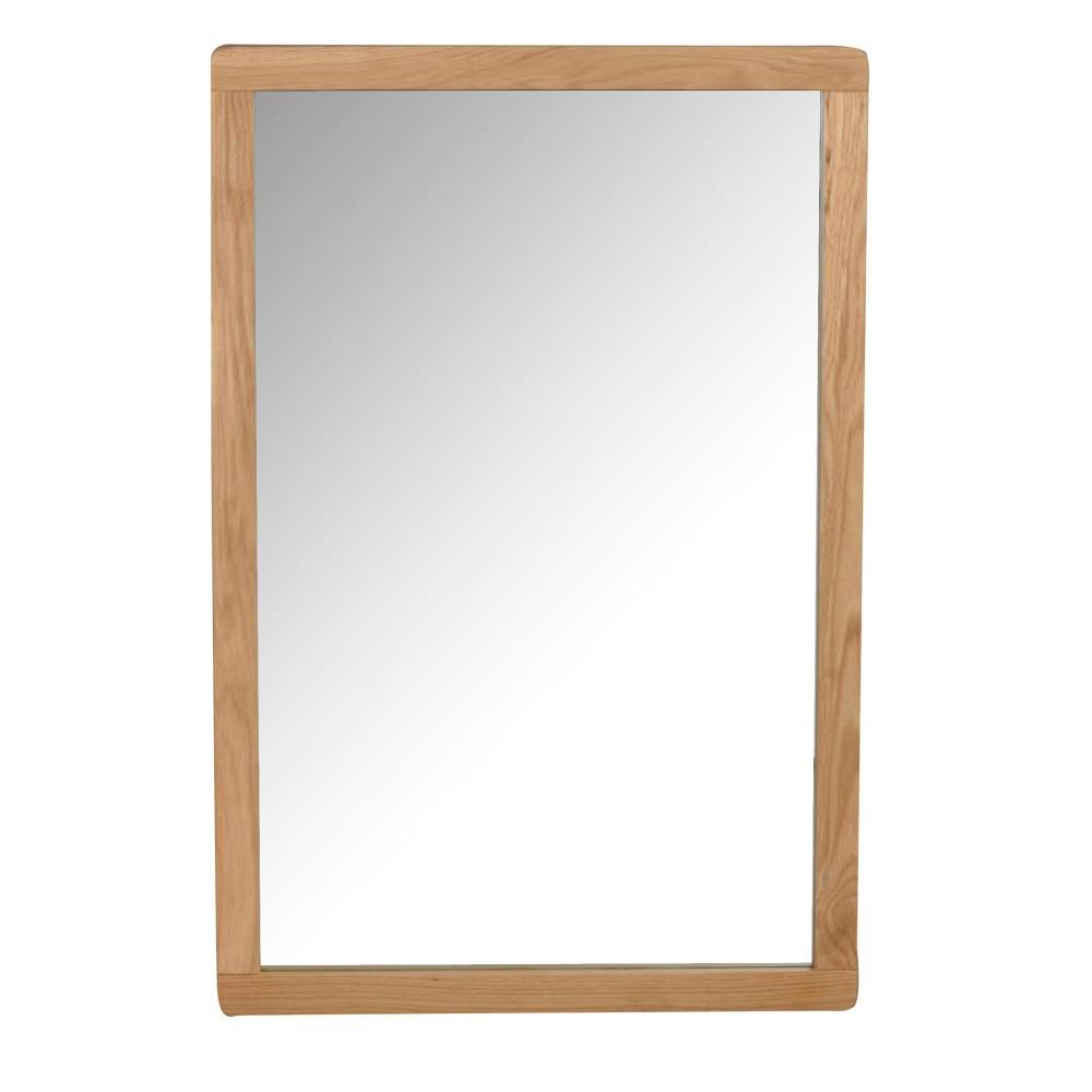 Prírodné dubové zrkadlo Folke Gorgona