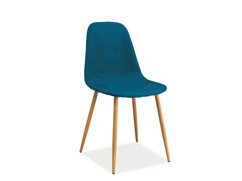 Jedálenská stolička Fox (tyrkysová)