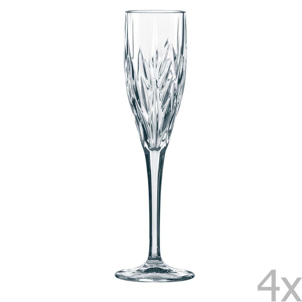 Sada 4 pohárov  na sekt Nachtmann Imperial Sparkling