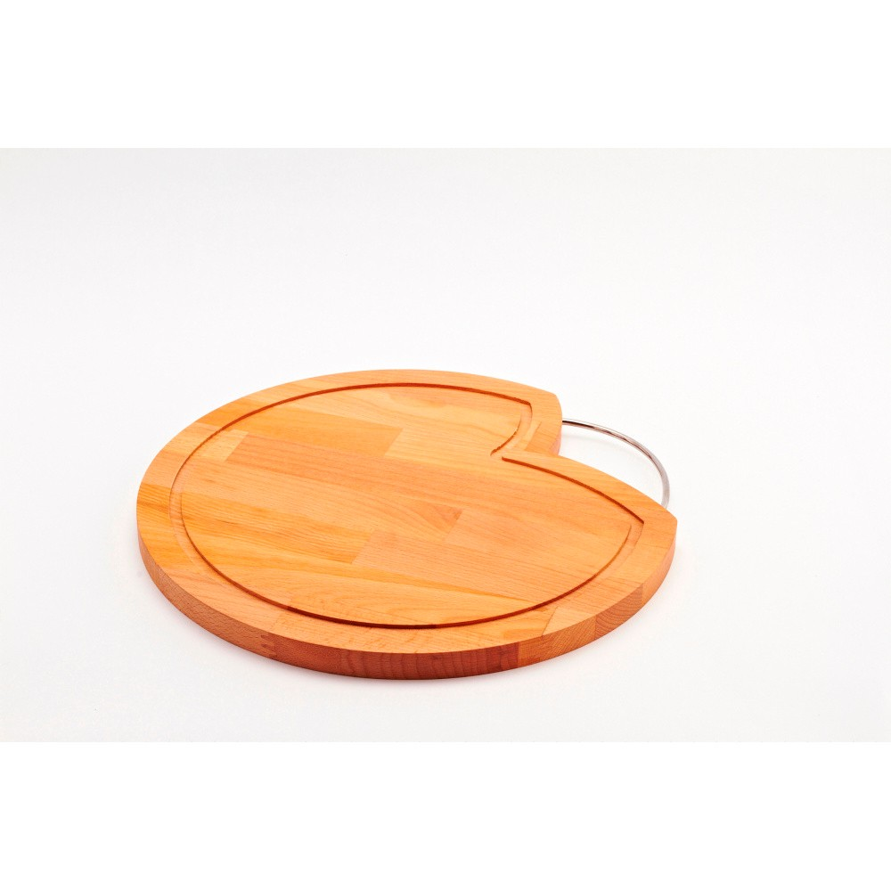 Doska na krájanie z bukového dreva Bisetti Feet, 35 cm