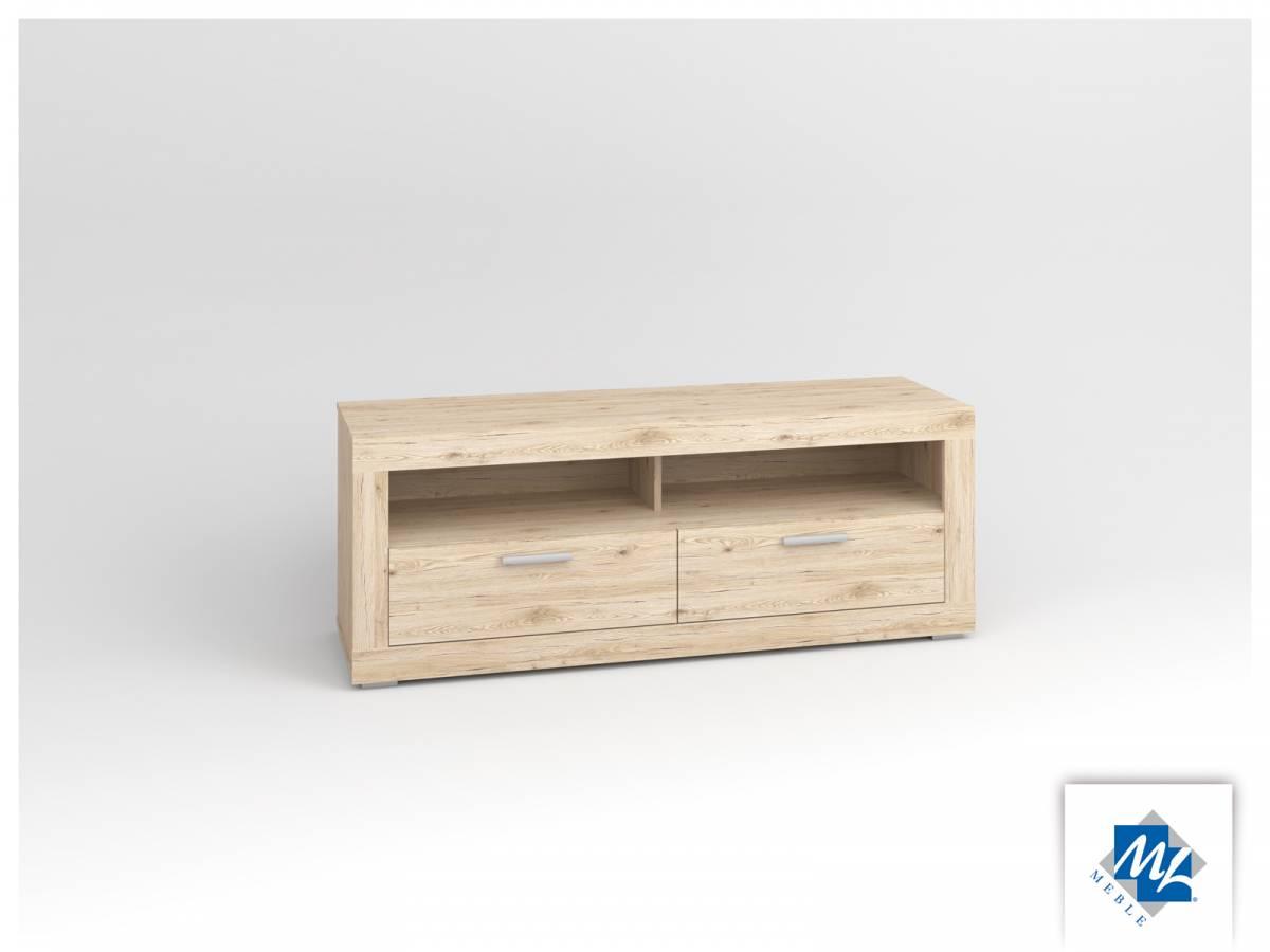 TV stolík/skrinka Modern 13 dub San Remo