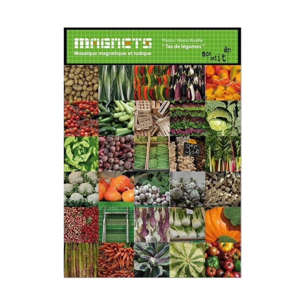 Sada 30 magnetov Mon Petit Art Carrés de Légumes