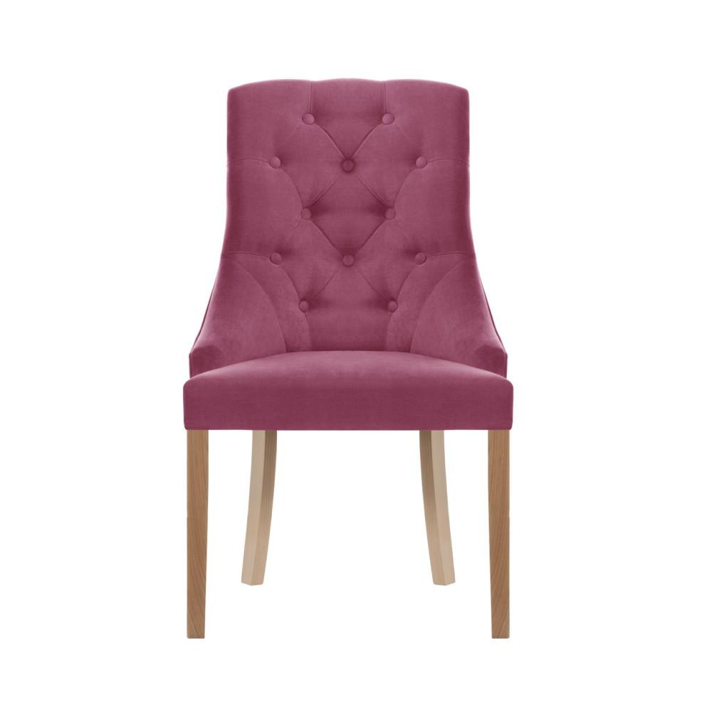 Ružová stolička Jalouse Maison Chiara