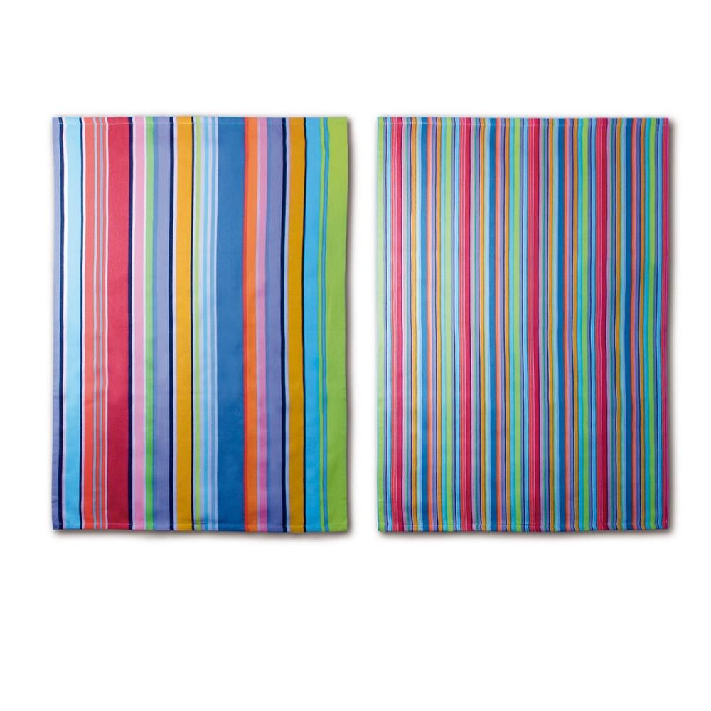 Sada 2 utierok Remember Purple Stripes, 70 x 50 cm