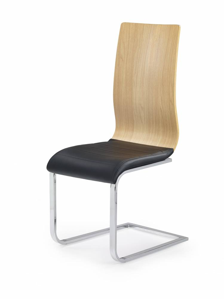 Jedálenská stolička K222 (jelša + čierna)