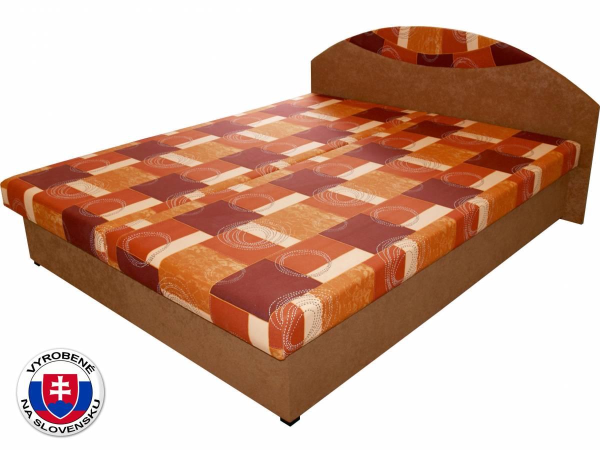 Manželská posteľ 160 cm Benab Dara (s roštami a matracmi)