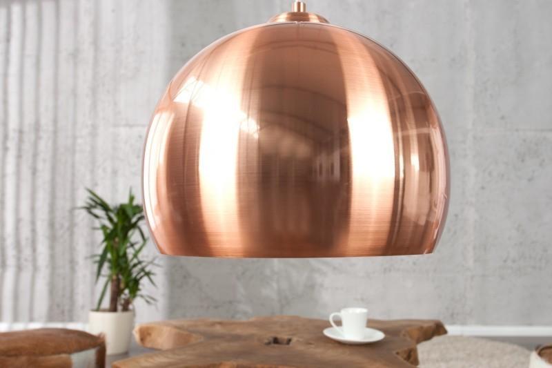 Visiaca lampa ZOLAR 30 cm - medená