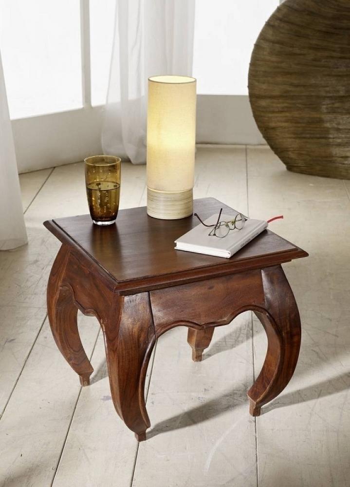 OPIUM nočný stolík #266 agát, nugátová