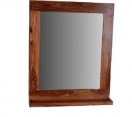 Furniture nábytok  Masívne zrkadlo z Palisanderu  Jonos  65x12x78 cm