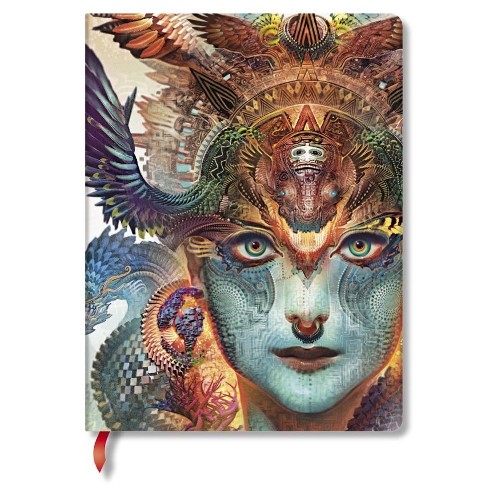 Zápisník s tvrdou väzbou  Paperblanks Dharma, 18 x 23 cm