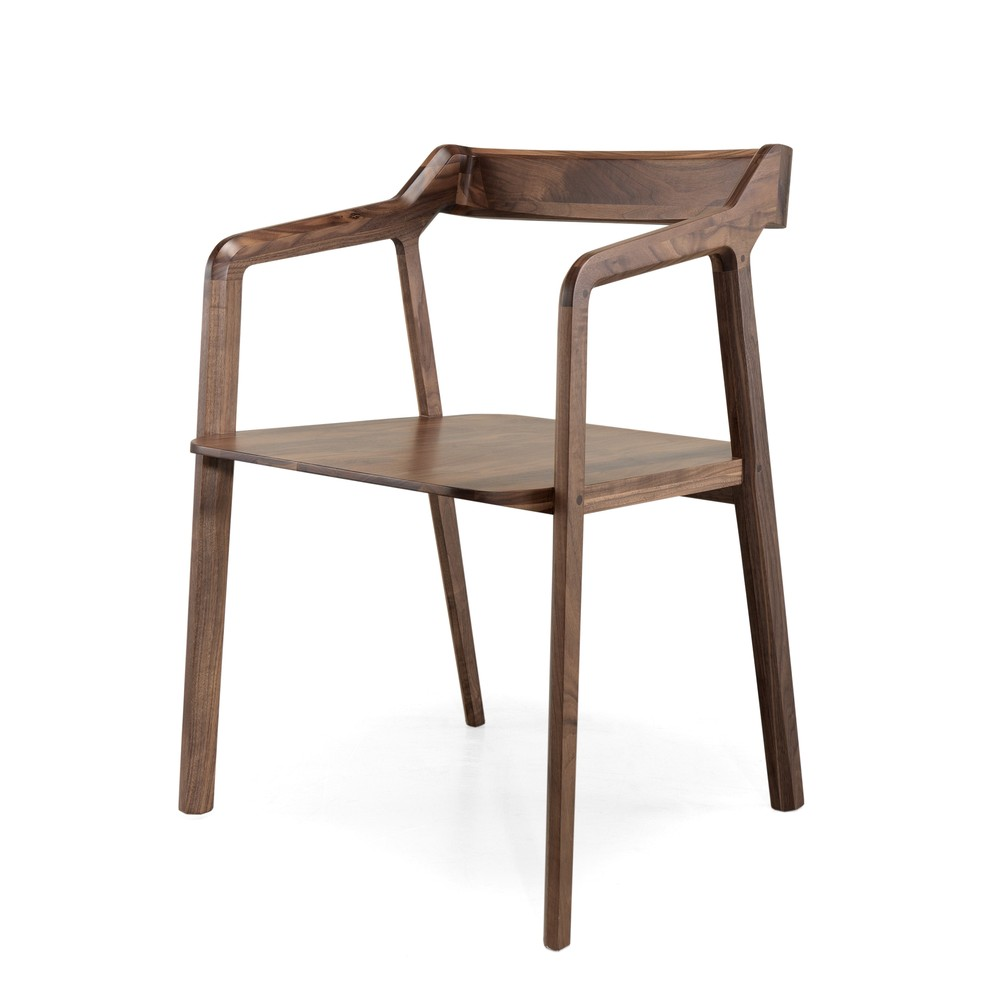 Jedálenská stolička z orechového dreva Wewood - Portugues Joinery Kundera
