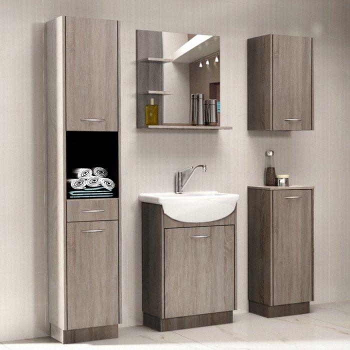 TEMPO KONDELA OLIVIA kúpeľňa - dub sonoma truflový