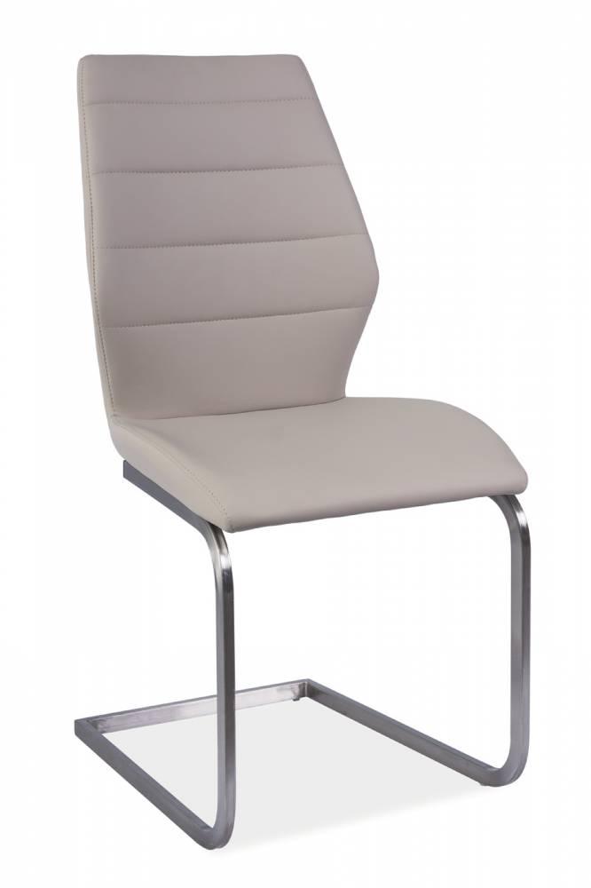 Jedálenská stolička Kevin (ekokoža cappuccino)
