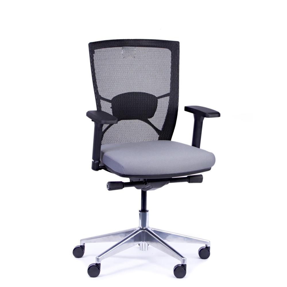 Rauman Kancelárska stolička Fiore, antracit bez hlavové opierky FIORE BMF B13