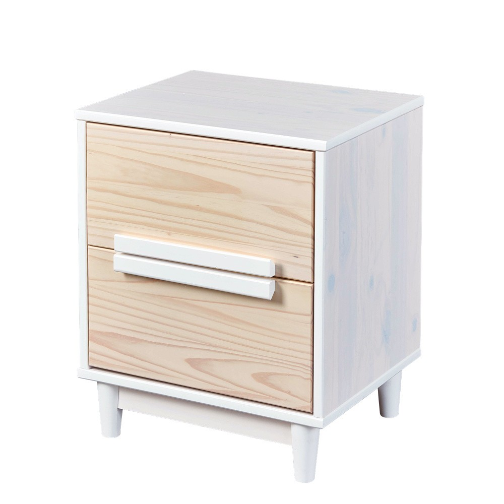 Nočný stolík z borovicového dreva Interlink Ebbo