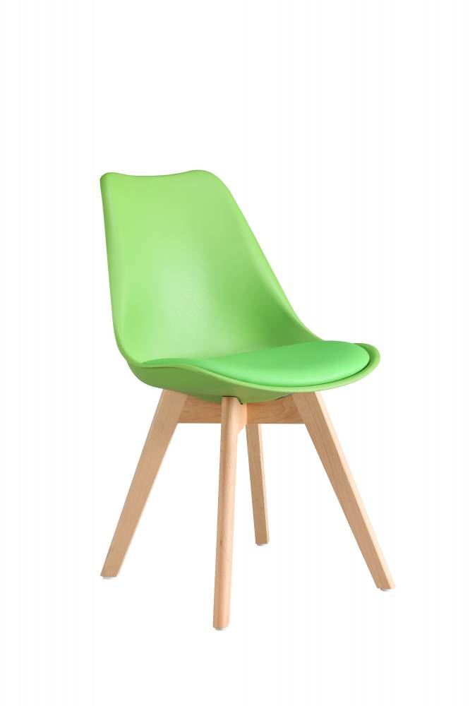 CROSS jedálenská stolička, zelená