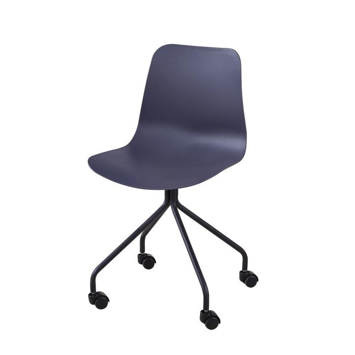 Kancelárska stolička Danela (tmavosivá)