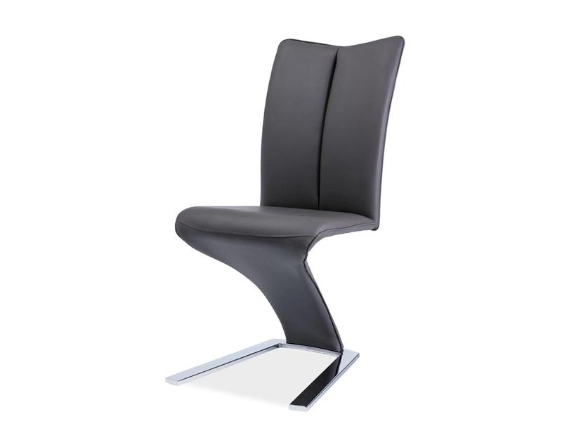 HK-040 jedálenská stolička, sivá