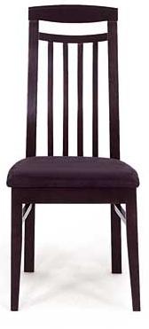 Jedálenská stolička BE810 BK