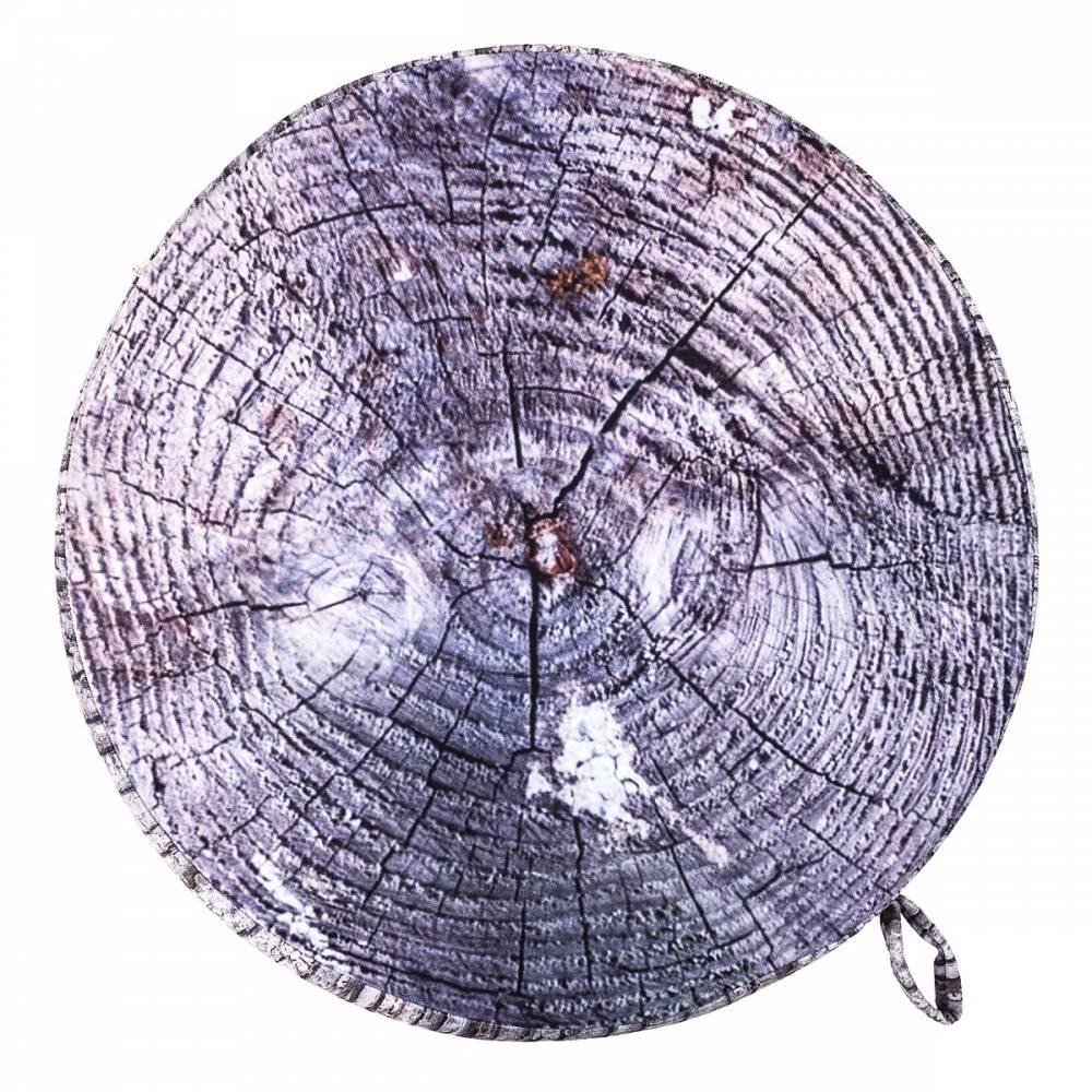 Sedák Drevo sivá, 40 cm