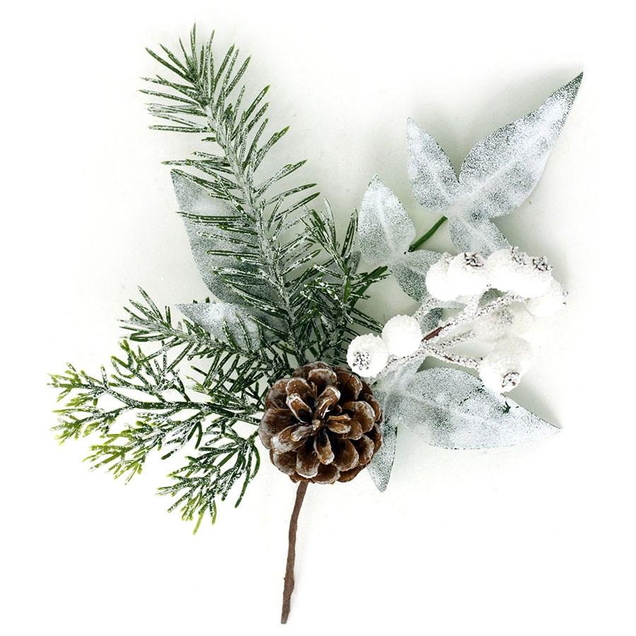 Autronic Vianočná vetvička Soria, 25 cm, PRZ2681