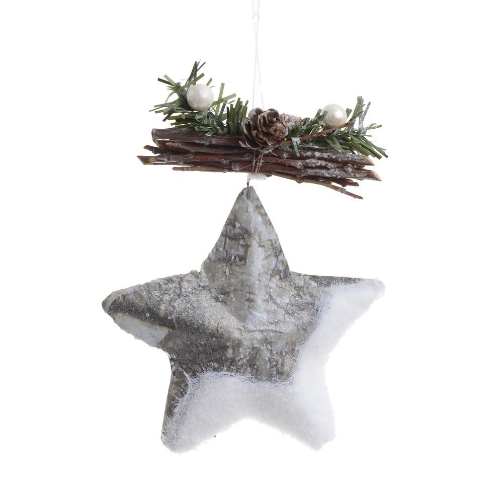 Vianočná ozdôba v tvare hviezdičky InArt Star