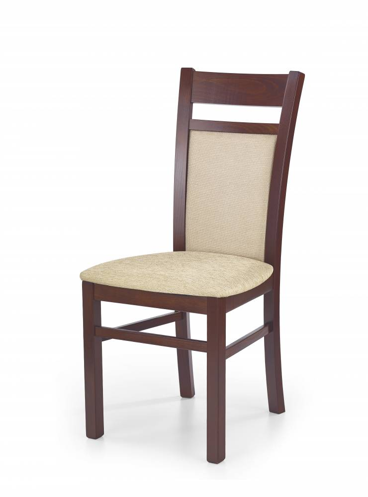 Jedálenská stolička Gerard 2 (čerešňa antická II + béžová)