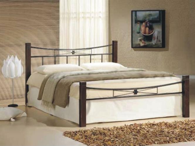 Manželská posteľ 140 cm Paula (s roštom)