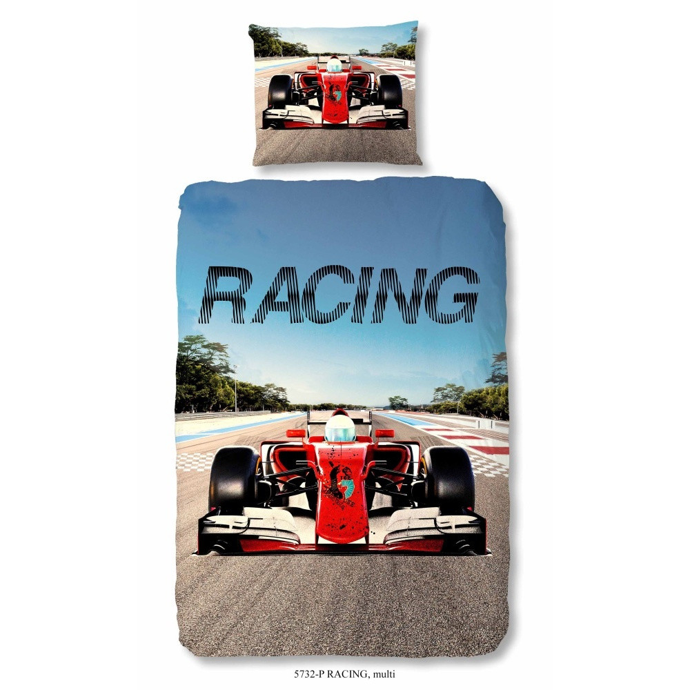 Detské bavlnené obliečky Müller Textiel Racing, 140x200cm