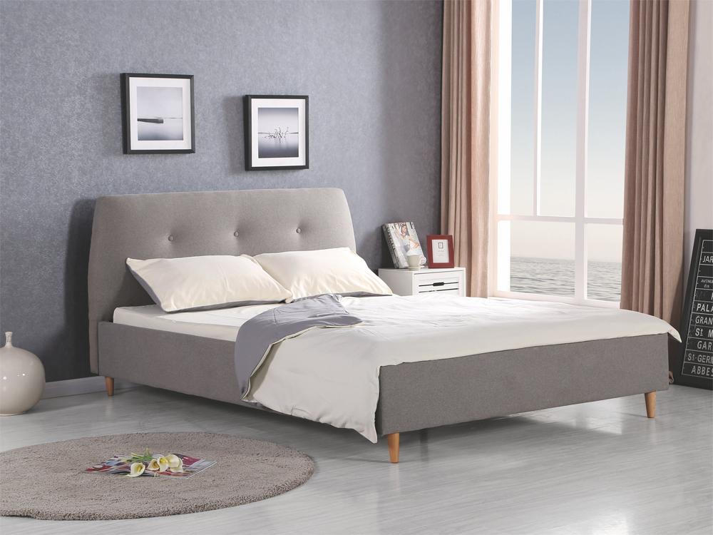 Manželská posteľ 160 cm Doris (s roštom)