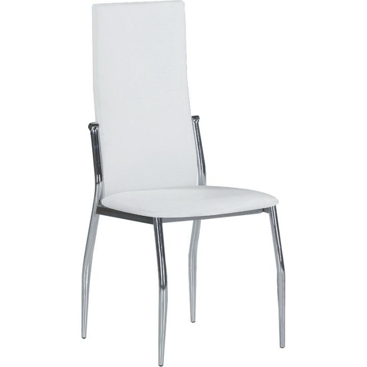Jedálenská stolička Solana biela