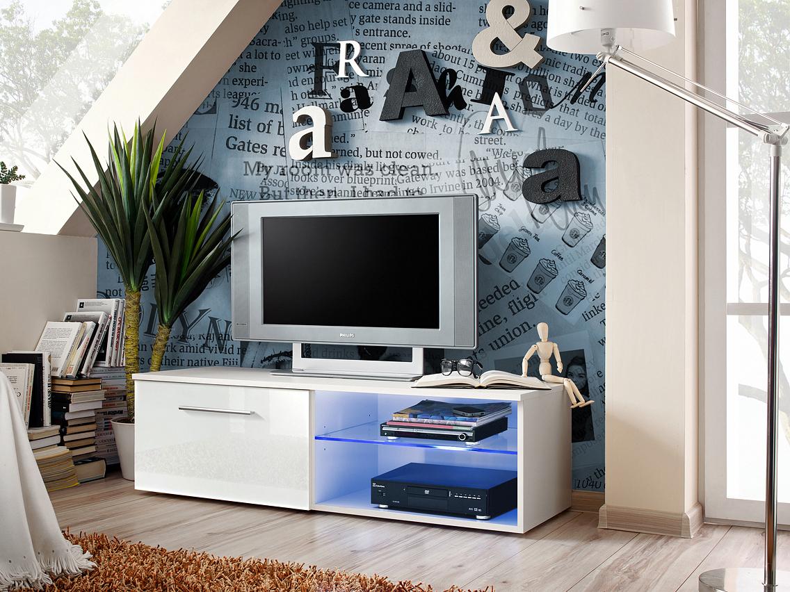 TV stolík/skrínka Bono IV 25 WWH B4