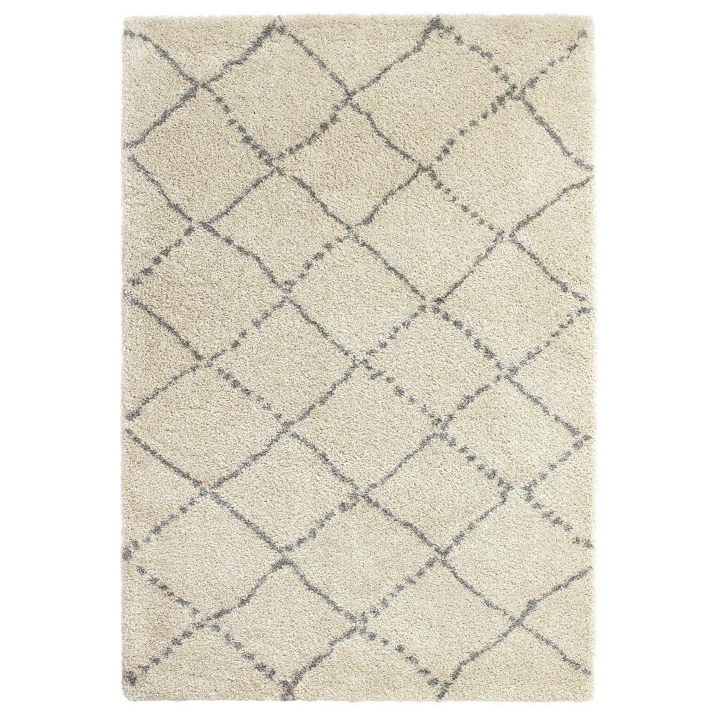 Krémovo-sivý koberec Think Rugs Royal Normandic Cream, 120x170cm