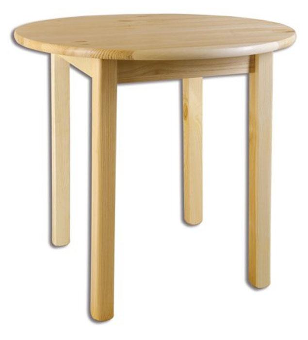 ST105 Jedálenský stôl okrúhly, priemer plochy 60 cm