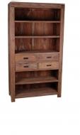 Furniture nábytok  Masívna knižnica  z Palisanderu  Mahvár  100x40x200 cm