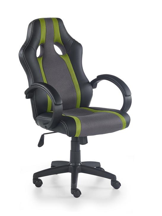 Kancelárske kreslo Radix (sivá + zelená)