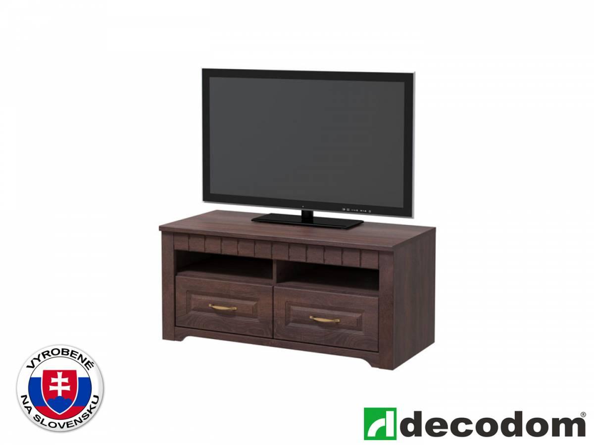 TV stolík/skrinka Decodom Lirot Typ 31 (dub pílený schoko)