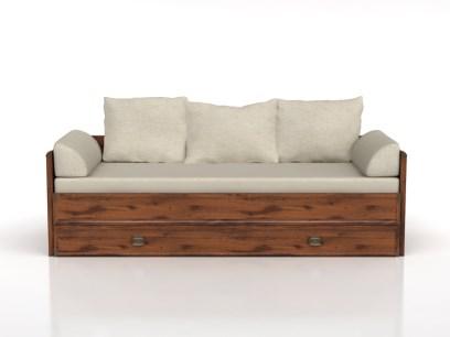 Rozkladacia posteľ INDIANA JLOZ 80/160   Farba: dub sutter