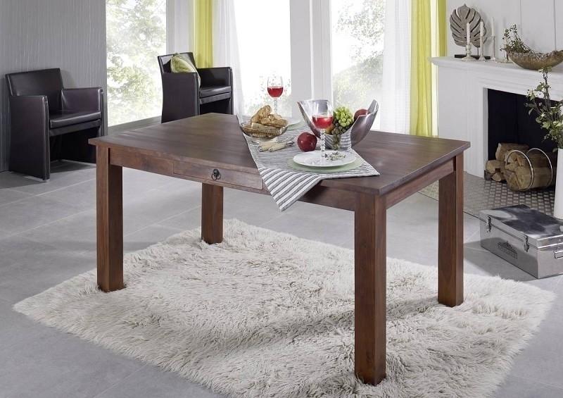 OXFORD #111 Kolonial jedálenský stôl 120x85 masívny agát