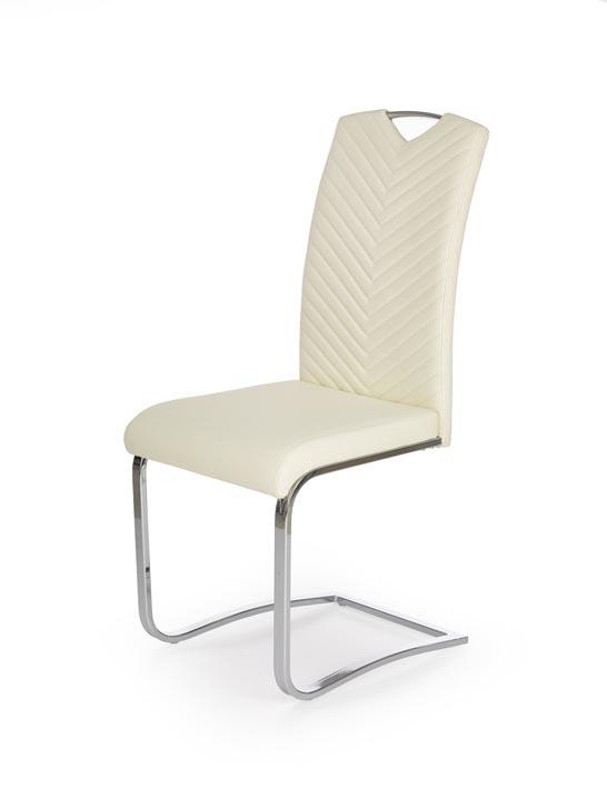 Jedálenská stolička K239 (krémová)