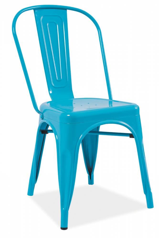 Jedálenská stolička Loft (modrá)