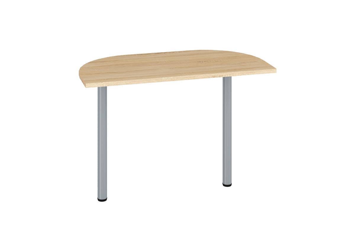 Prídavný kancelársky stôl OPTIMAL 18 / sonoma svetlá