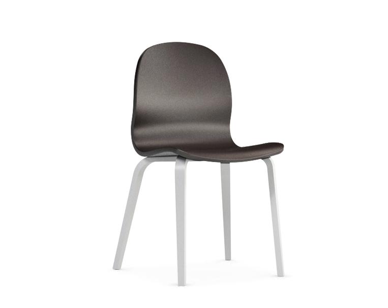 Jedálenská stolička Possi hnedá   Farba: hnedá/biela