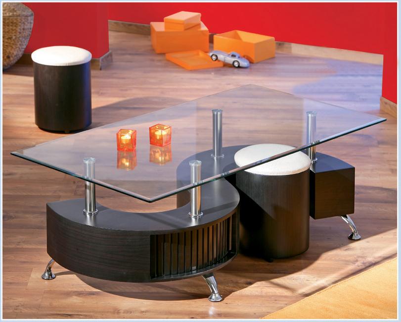 Konferenčný stolík Otelo (s taburetkami)