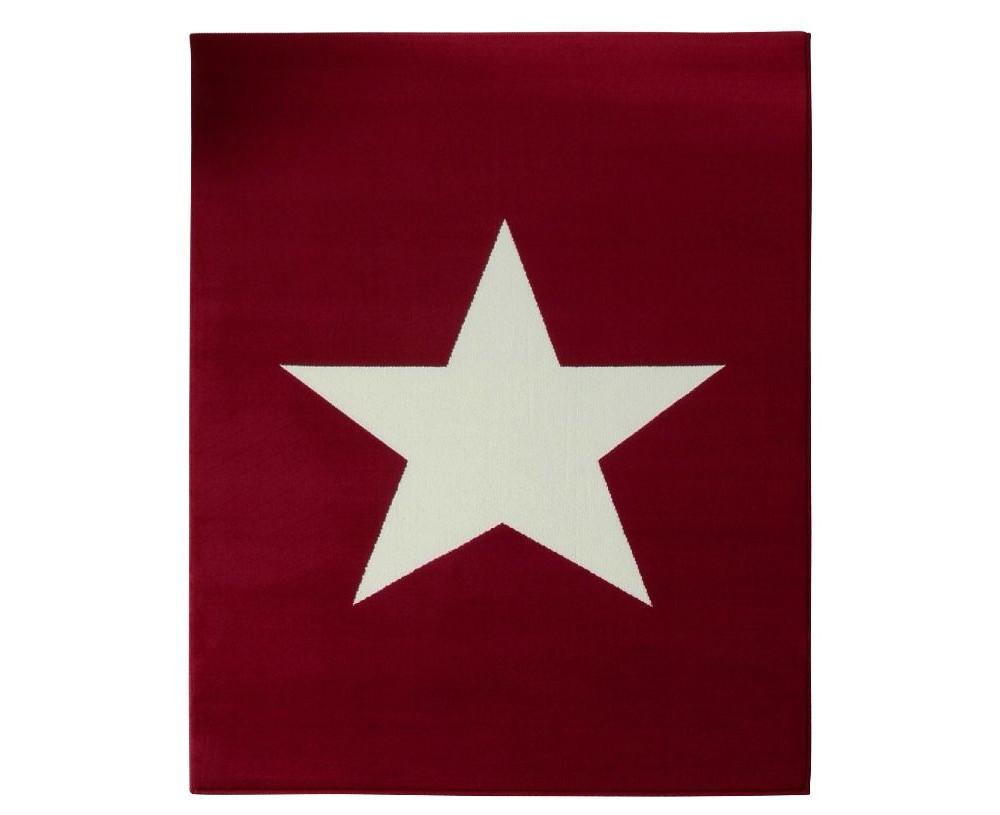 Červený koberec Hanse Home City & Mix, 140x200cm