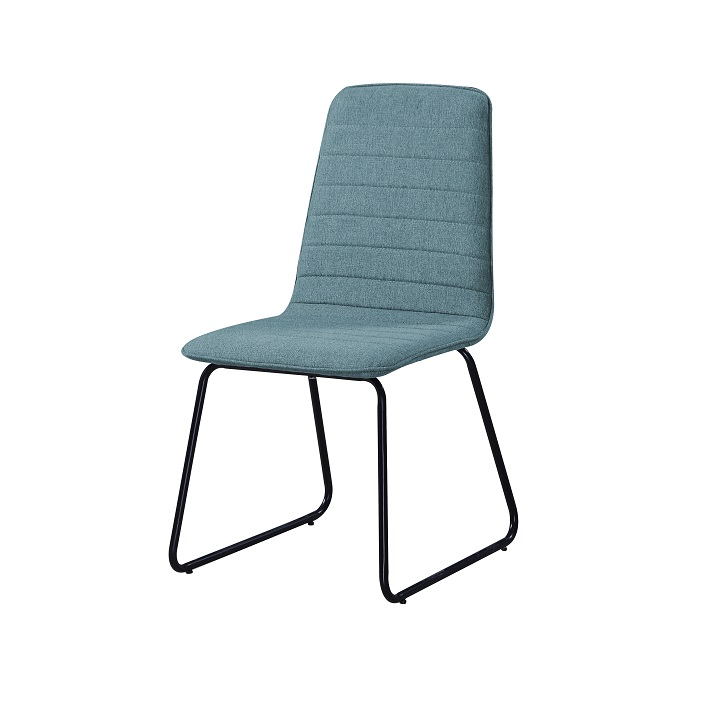 Jedálenská stolička Danuta (modrá + čierna)