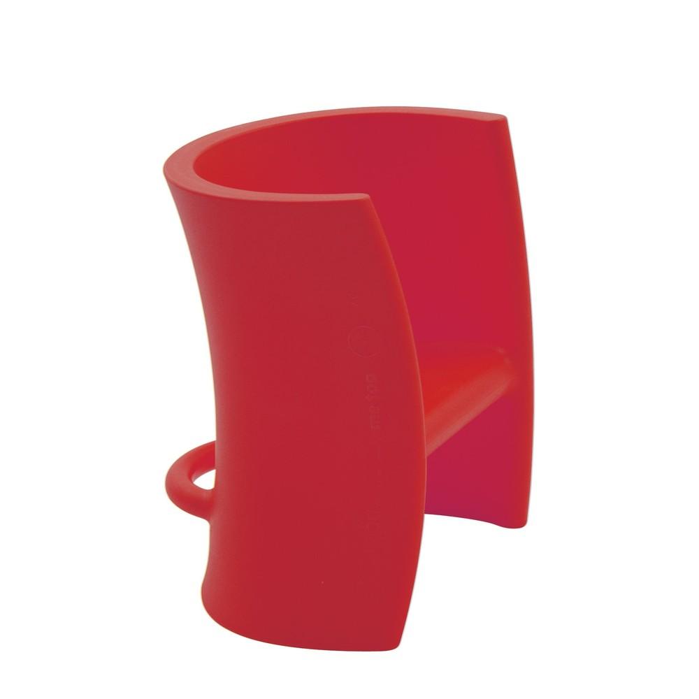 Červená viacúčelová stolička Magis Trioli