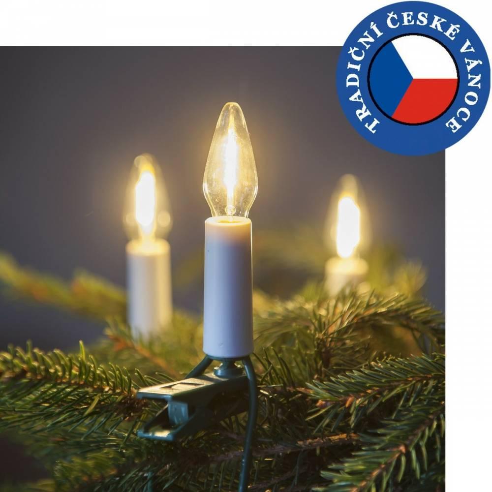 Súprava Felicia LED Filament číra SV-16, 16 žiaroviek