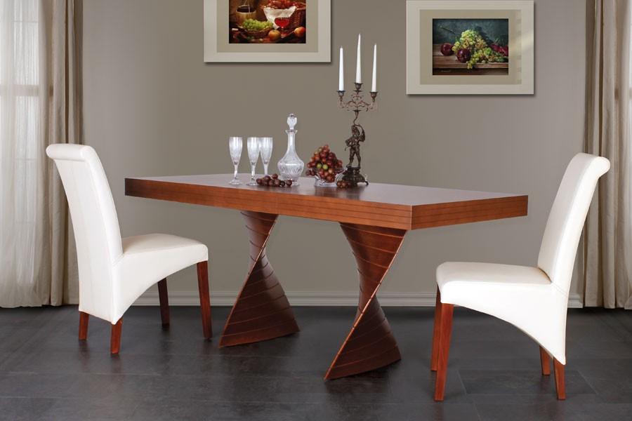 Bradop Jedálenský stôl FREDO, rozkladací 160 / 220x90 S181-160