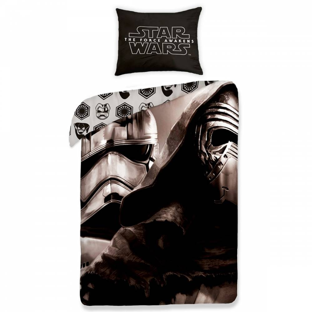 Halantex Detské bavlnené obliečky Star Wars 457, 140 x 200 cm, 70 x 90 cm
